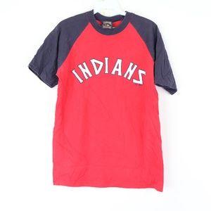 Majestic Mens Medium Cleveland Indians T Shirt